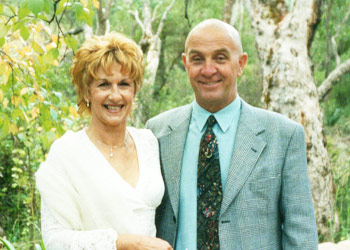 Raymond and his wife