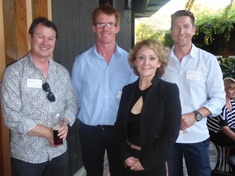 Karen Ong, Tim McGrath and guests