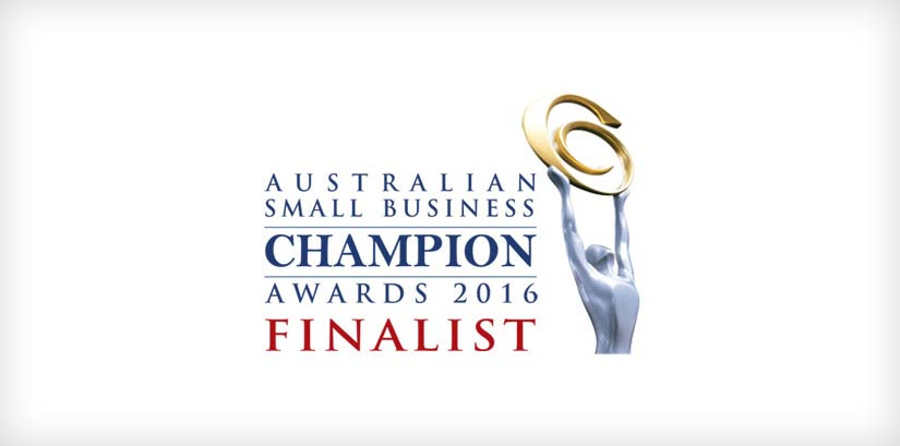 Australian Small Business Champion Awards 2016 finialist logo