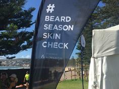 Manly beach Beard Season Skin Checks with Spotscreen