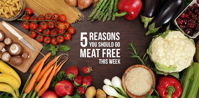 5 Reasons you should go meat free this wek