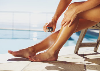 Wear sunscreen to prevent skin cancer
