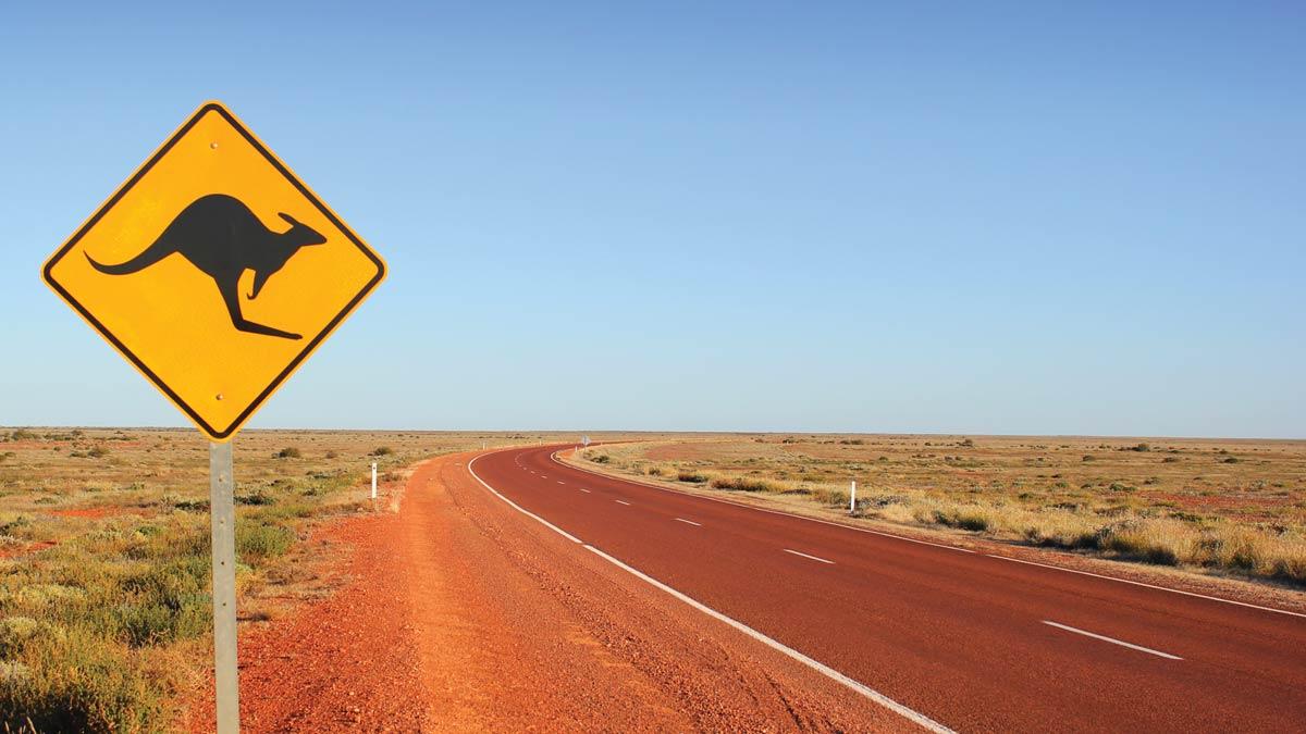 Australia outback road