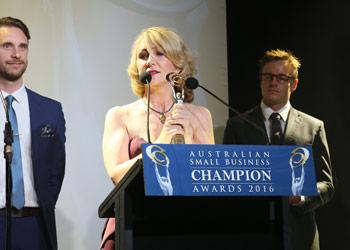 Spotscreen receiving award